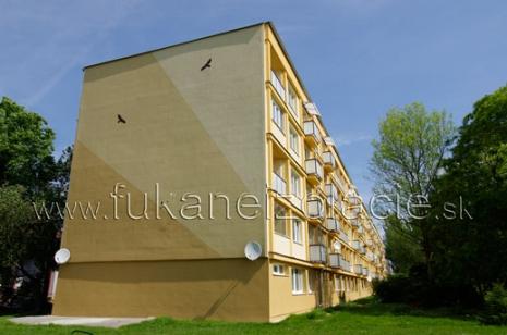 Bytový domv Piešťanoch zateplený fúkanou izoláciou