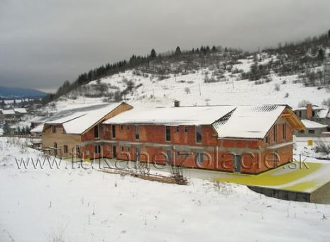 Penzión - zateplenie strechy