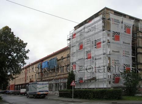 Bytový dom - zateplenie betónového stropu